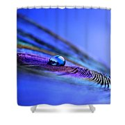 Soul Of Blue Shower Curtain