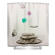 Soul Of Stones  Shower Curtain