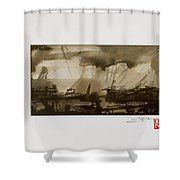 Soul' Shadows Shower Curtain