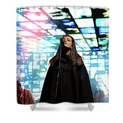 Soul Singing Shower Curtain by Milan Mirkovic