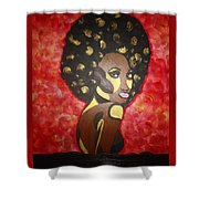 Soul Sista Number Five Shower Curtain