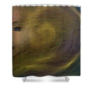 Soul Spiral Shower Curtain