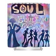Soul Train 1 Shower Curtain