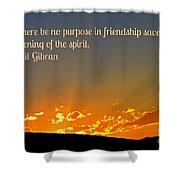 Soulful Friends Shower Curtain