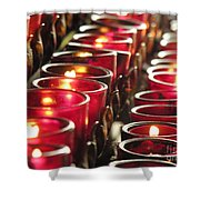 Souls Shower Curtain by Diane Greco-Lesser