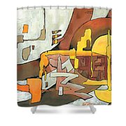 Soulscape Fall Shower Curtain