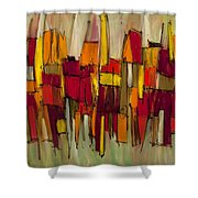 Sound And Fury Three Shower Curtain