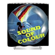 Sound Of Colour Shower Curtain