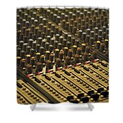 Soundboard Shower Curtain