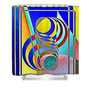 Soundings Shower Curtain