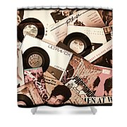 Sounds Of Then - Remembering The 80s I Shower Curtain
