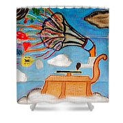 Soundtrack 2 My Life Shower Curtain