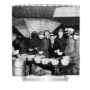 Soup Kitchen, 1931 Shower Curtain