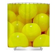 Sour Lemon Candies Shower Curtain