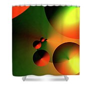 Sourceofcircles Shower Curtain