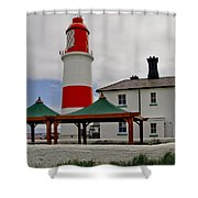 Souter From Marsden. Shower Curtain