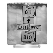 South 811 Shower Curtain