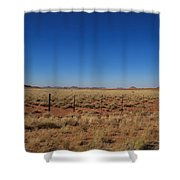 South African Panorama Shower Curtain