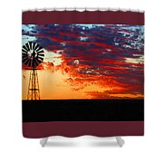 South African Sunrise Shower Curtain