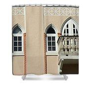 South Beach Balcony Shower Curtain