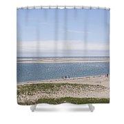 South Beach, Chatham Ma Shower Curtain