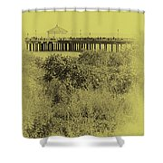 South Beach Pavilion Shower Curtain
