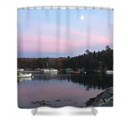 South Bristol Sunset Shower Curtain