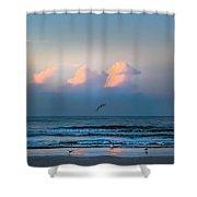 South Carolina Sunrise Shower Curtain