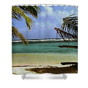 South Caye Belize Shower Curtain