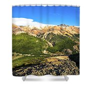 South Chile Patagonia Shower Curtain
