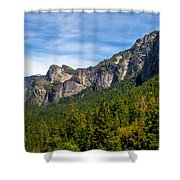 South End Of Half Dome Shower Curtain