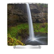 South Falls At Silver Falls State Park Shower Curtain