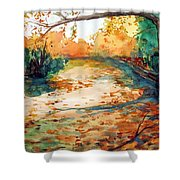 South Field Shower Curtain