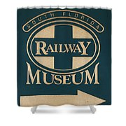 South Florida Railway Museum Shower Curtain