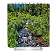 South Fork Ranch Creek Colorado Shower Curtain