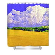 South Forty Shower Curtain