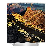 South Kaibab Trail - Grand Canyon Shower Curtain