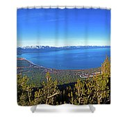 South Lake Tahoe Shower Curtain