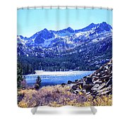 South Lake Shower Curtain