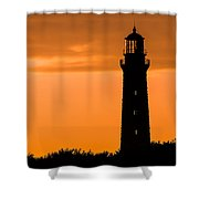 South Lighthouse Closeup Shower Curtain