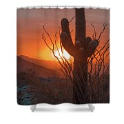 South Mountain Shower Curtain