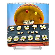 South Of The Border Shower Curtain