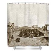 South Park San Francisco Circa 1870 Shower Curtain