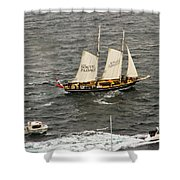 South Passage Entering Sydney Shower Curtain
