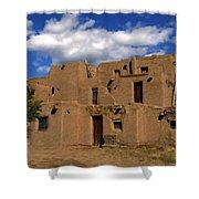 South Pueblo Taos Shower Curtain