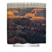 South Rim Sunrise - Grand Canyon National Park - Arizona Shower Curtain