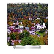 South Royalton Vermont Shower Curtain