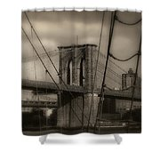 South Street Seaport Shower Curtain