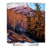 South Suicide Sunset Shower Curtain