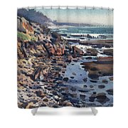 South To Pigeon Point Shower Curtain
